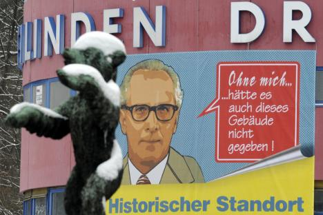 Affiche Honecker